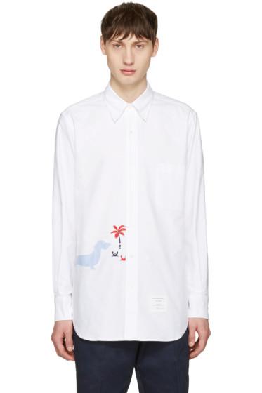 Thom Browne - White Hector Classic Shirt