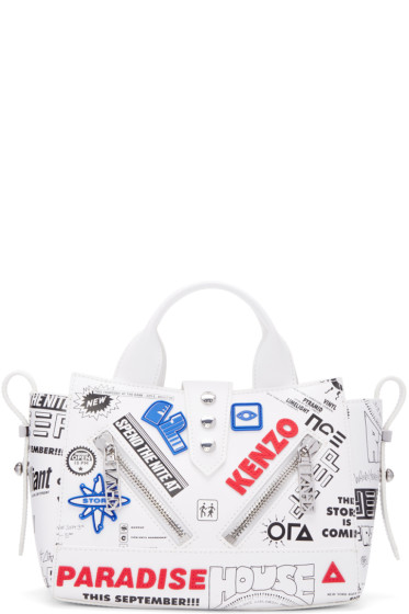 Kenzo - White Flyers Kalifornia Bag