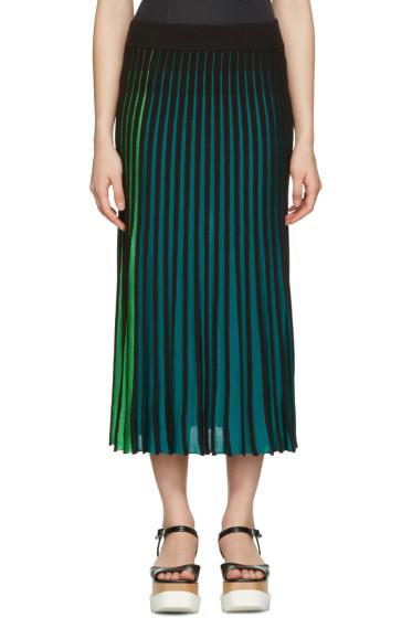Kenzo - Multicolor Plisse Skirt