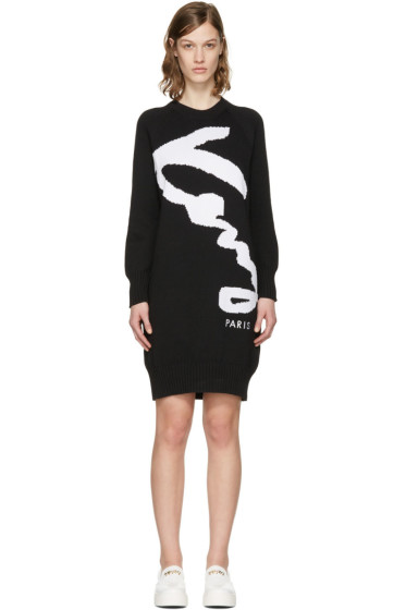 Kenzo - Black Pullover Dress