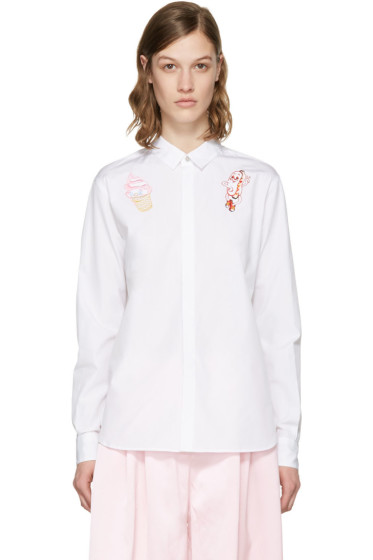 Kenzo - White Ice Cream & Hot Dog Shirt
