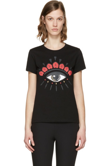 Kenzo - Black Chinese New Year Eye T-Shirt