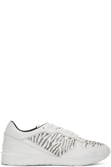 Kenzo - White Tiger Running Sneakers