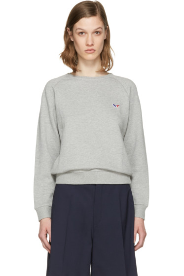 Maison Kitsuné - Grey Fox Patch Pullover
