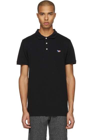 Maison Kitsuné - Black Fox Patch Polo