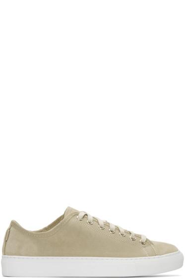 Diemme - Beige Suede Veneto Low Sneakers