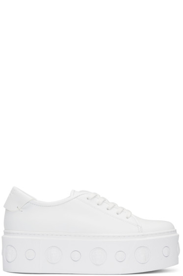 Versus - White Lion Platform Sneakers