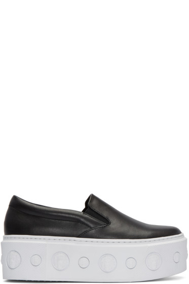 Versus - Black Lion Slip-On Platform Sneakers