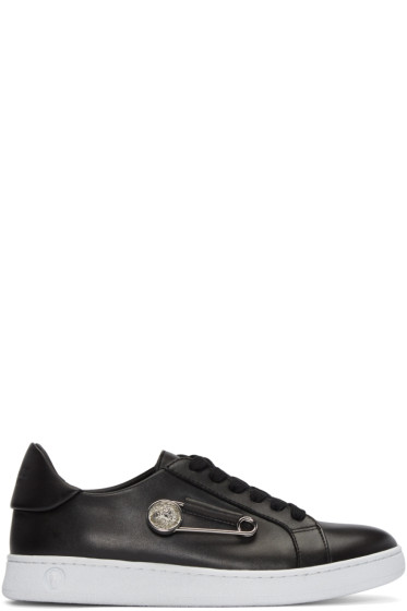 Versus - Black Safety Pin Sneakers