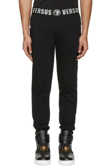 Versus - Black Logo Lounge Pants