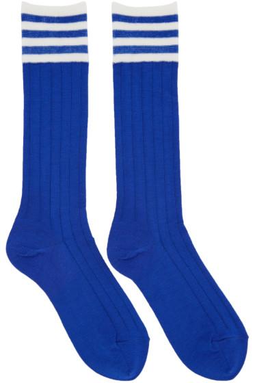 Undercover - Blue Striped Socks