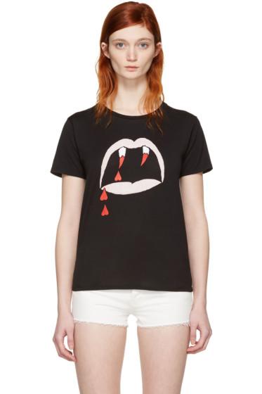 Saint Laurent - Black Blood Luster T-Shirt
