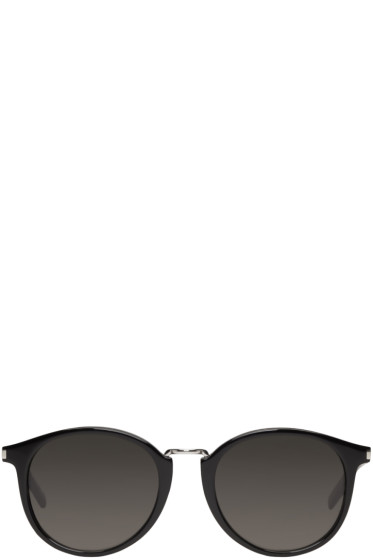 Saint Laurent - Black SL 130 Combi Sunglasses