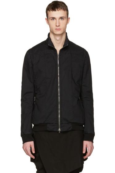 Julius - Black Seamed Jacket
