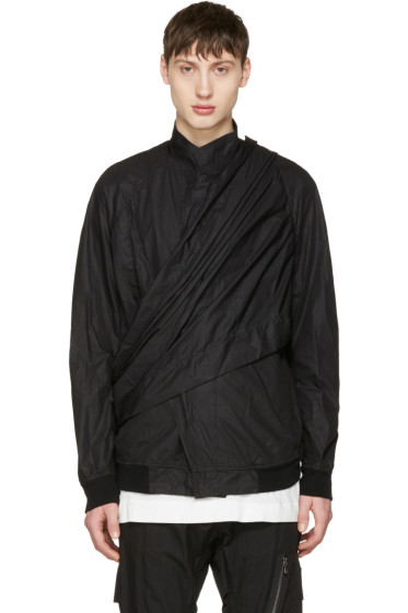 Julius - Black Wrap Jacket