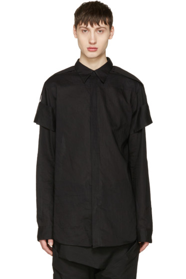 Julius - Black Arm Bands Shirt