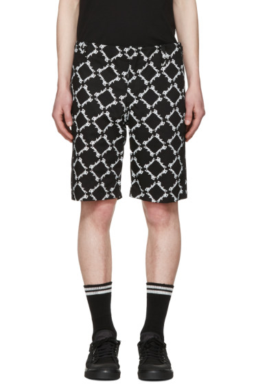 KTZ - Black Baggy Latin Shorts