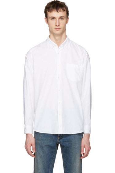 Sacai - White Oxford Shirt