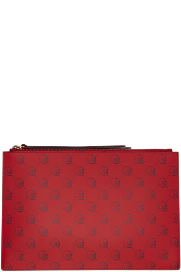 Gucci - Red GucciGhost Pouch