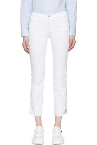 Frame Denim - White Le High Straight Jeans