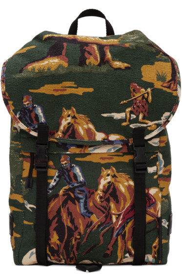 Stella McCartney - Multicolor Textile Horse Backpack