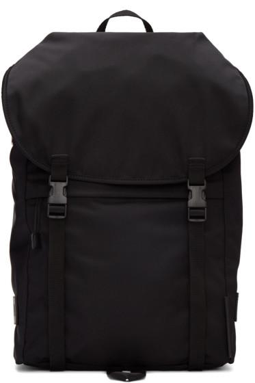 Stella McCartney - Black Nylon Backpack