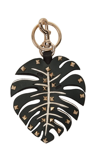 Valentino - Green Leaf Keychain