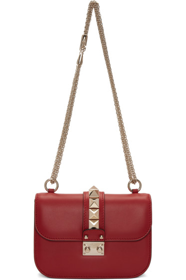 Valentino - Red Small Lock Bag