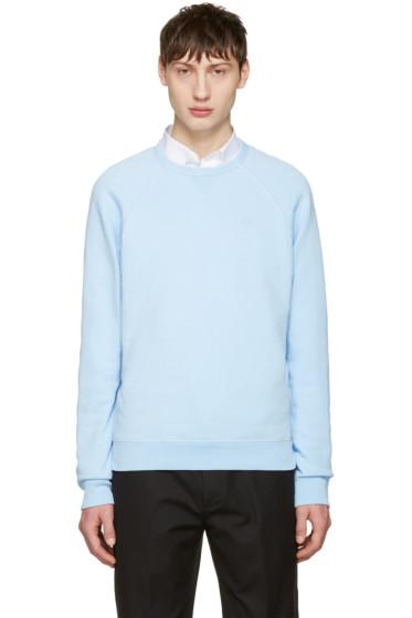 AMI Alexandre Mattiussi - Blue Logo Pullover