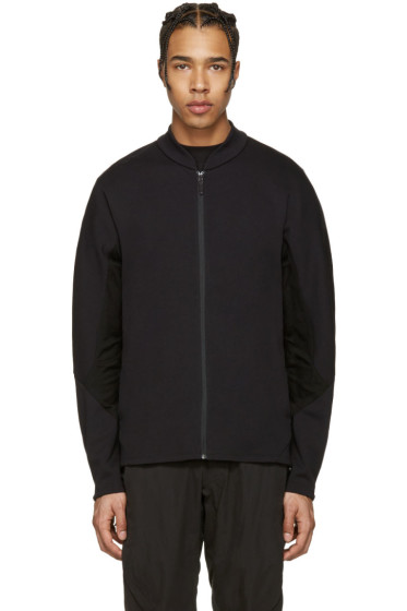 Arc'teryx Veilance - Black Dyadic Zip-Up Sweater