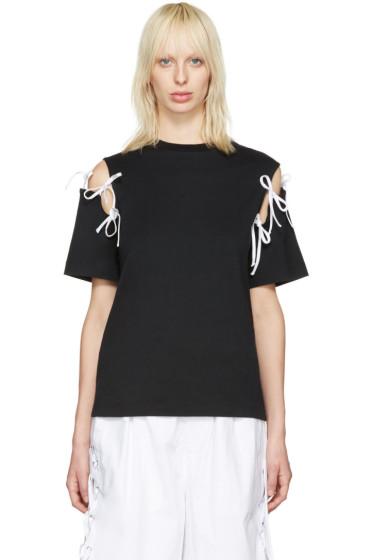 Facetasm - Black Tie Shoulder T-Shirt