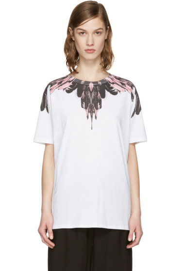 Marcelo Burlon County of Milan - SSENSE Exclusive White Ramira T-Shirt