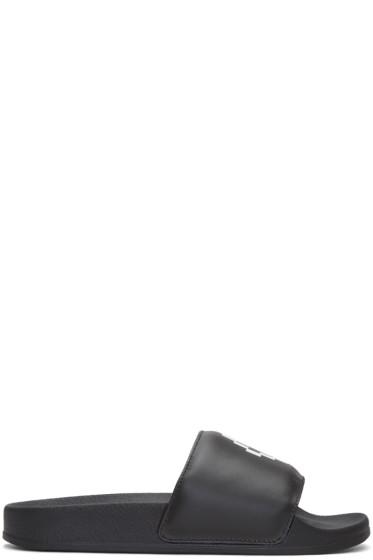 Marcelo Burlon County of Milan - Black Kelly Sandals