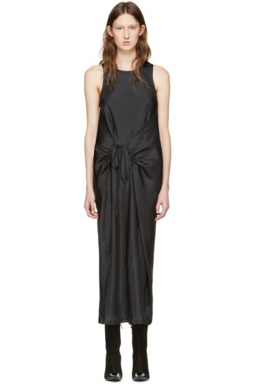 Haider Ackermann - Black Silk Tank Dress