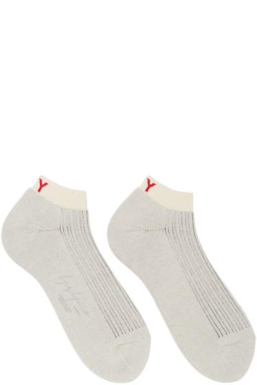 Yohji Yamamoto - Beige Logo Socks