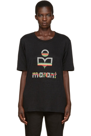 Isabel Marant Etoile - Black Kendriwa T-Shirt