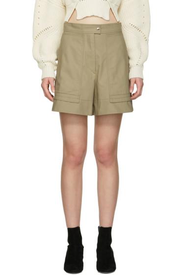 Isabel Marant - Beige Trey Shorts