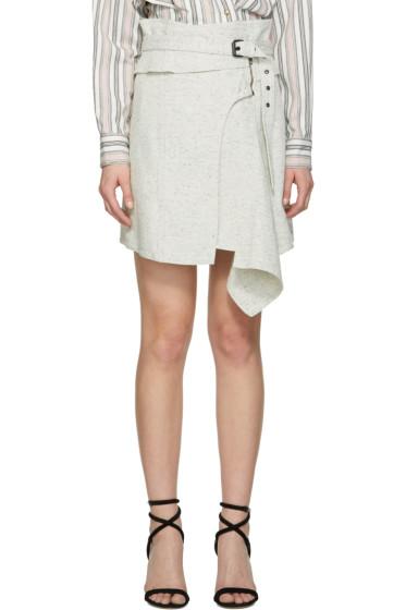 Isabel Marant - White Eydie Miniskirt