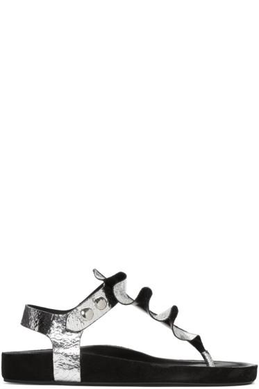 Isabel Marant - Silver Leakey Sandals