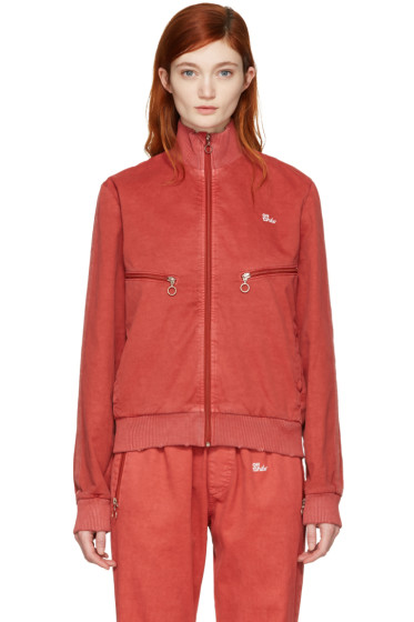 Off-White - Red Slim Track Jacket