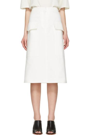 Studio Nicholson - Ivory Twill Severine Skirt