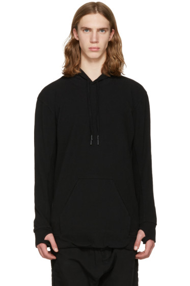 11 by Boris Bidjan Saberi - Black Oversized Hoodie