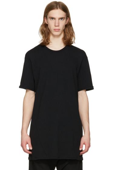 11 by Boris Bidjan Saberi - Black Overlong T-Shirt