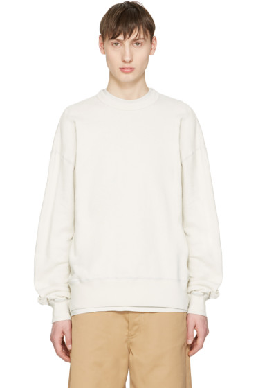 Undecorated Man - Grey French Terry Pullover