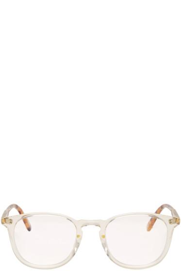 Garrett Leight - Transparent Kinney 49 Glasses