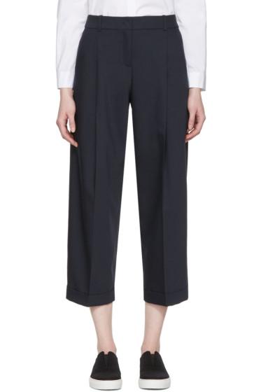 Jil Sander Navy - Navy Woven Trousers