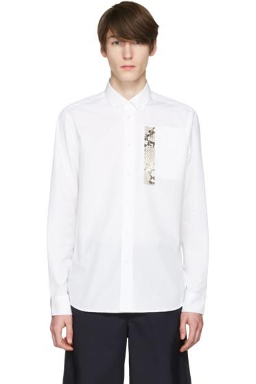 OAMC - White Snake Patch Shirt