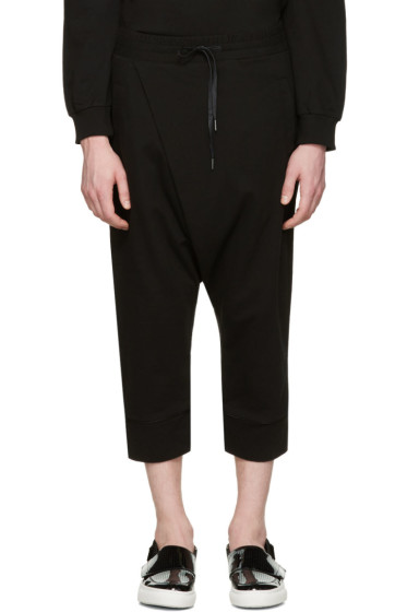 D by D - Black Wrap Lounge Pants
