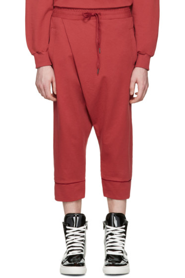 D by D - Red Wrap Lounge Pants