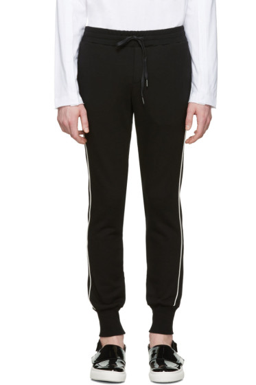 D by D - Black Piping Lounge Pants